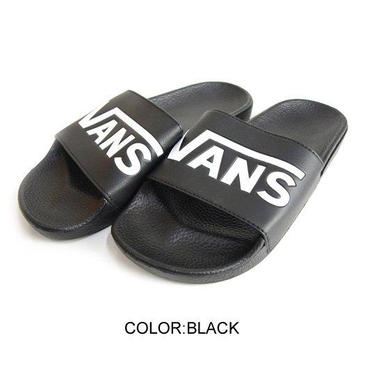 【VANS SURF】VANS SLIDE-ON (VANS) BLACK【サンダル】