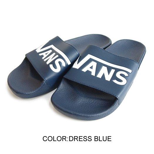 【VANS SURF】VANS SLIDE-ON (VANS) DRESS BLUE【サンダル】