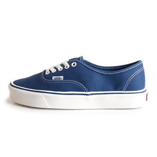 【VANS CLASSIC PLUS】AUTHENTIC LITE + CANVAS STV NAVY【シューズ・スニーカー・靴】