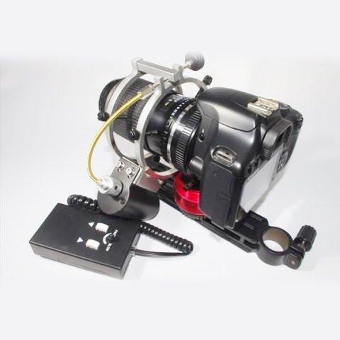 カメラレンズ用マイクロフォーカサー電動化キット