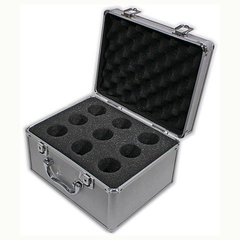 TS Deluxe Accessory Case for 9 eyepieces or adapters