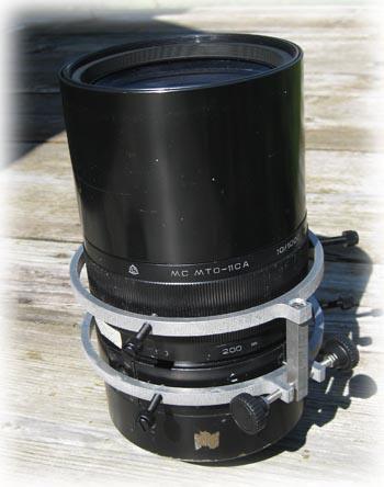 カメラレンズ用マイクロフォーカサー 105mm