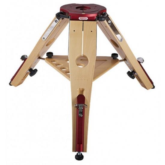 軽量堅牢防振木製 ヘラクレス三脚