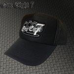 ワンエイトセブン 187 キャップ oe7-CAP001(BK×BK)