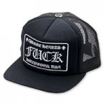 <img class='new_mark_img1' src='//img.shop-pro.jp/img/new/icons11.gif' style='border:none;display:inline;margin:0px;padding:0px;width:auto;' />CHROME HEARTS-クロムハーツ トラッカーキャップ-FUパッチ