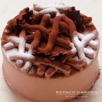 ループチョコレートケーキ