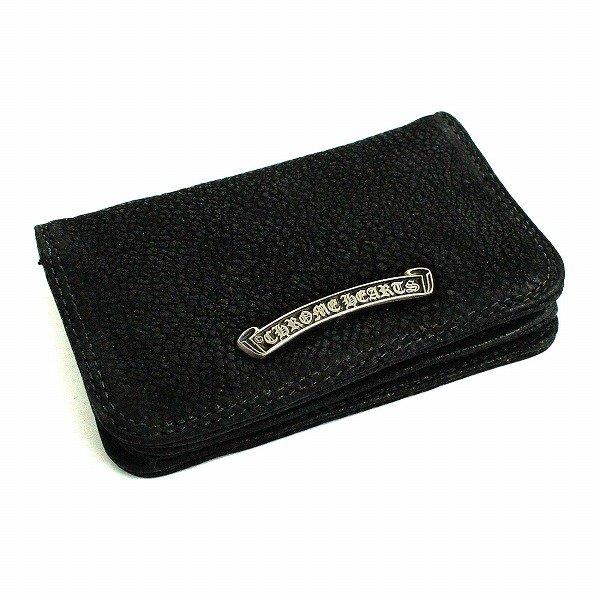 new arrival 2541d 2762b クロムハーツ カードケース グロメット付き デストロイレザー / CHROME HEARTS card case destroy leather
