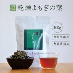 よもぎ葉 乾燥タイプ 100g 無農薬・無化学肥料栽培(兵庫県産)