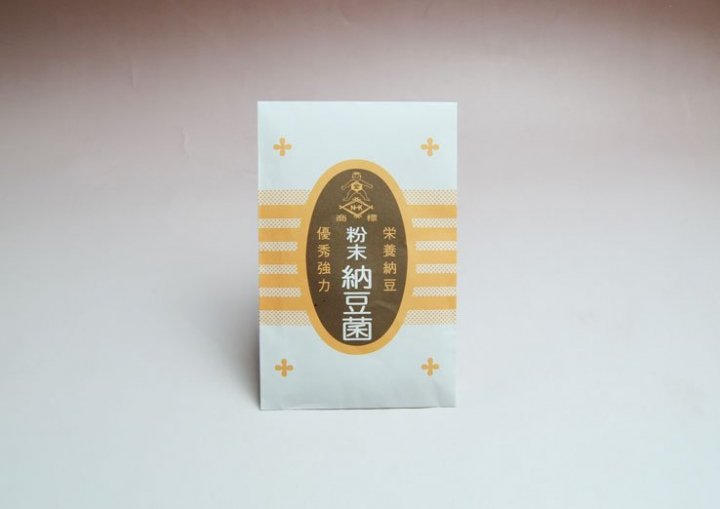 粉末納豆菌4g(原料大豆60kg分) -成瀬発酵科学研究所-【送料無料】*メール便での発送*
