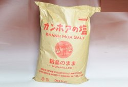 カンホアの塩(結晶のまま)20kg(業務用)