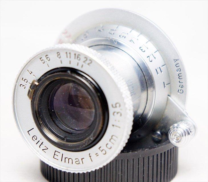 美し過ぎるレンズ!♪ 赤Elmar(赤エルマー)50mmF3.5 安心の整備済み