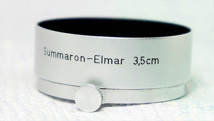 Summaron・Elmar35mm用純正レンズフード FOOKH