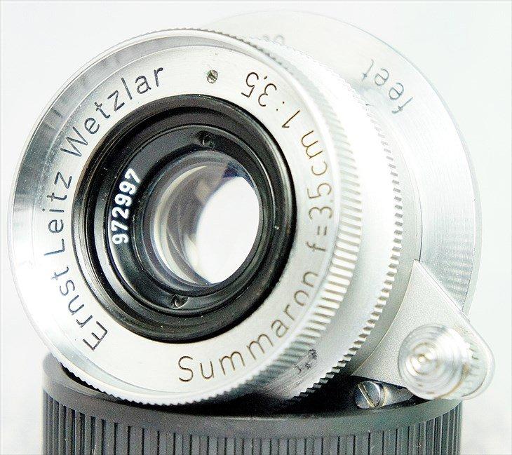 外観・光学系共に問題なし♪ Summaron(ズマロン)35mmF3.5 分解清掃済み