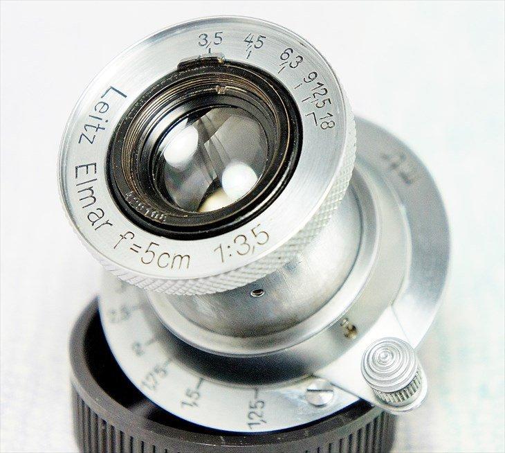Leitz定番レンズ♪ Elmar(エルマー)50mmF3.5 コーティングなし 整備済み
