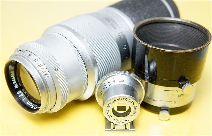 お得なレンズセット♪ Hektor(ヘクトール)135mmF4.5 整備済み