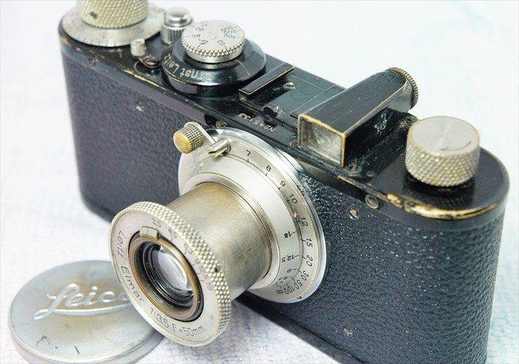 お得なセット♪ バルナックライカC型+ニッケルElmar50mmF3.5 整備済み・保証付
