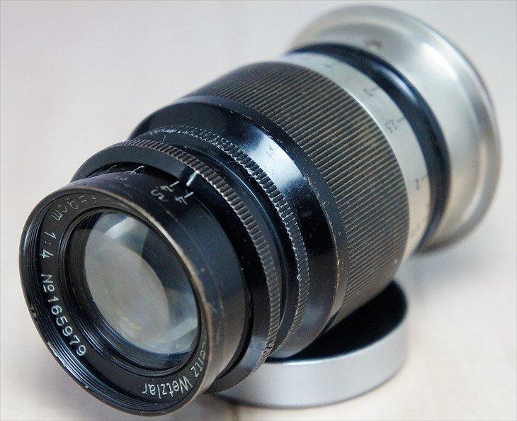 【安心保障価格】Leitz中望遠レンズElmar(エルマー)90mmF4 安心の整備済み
