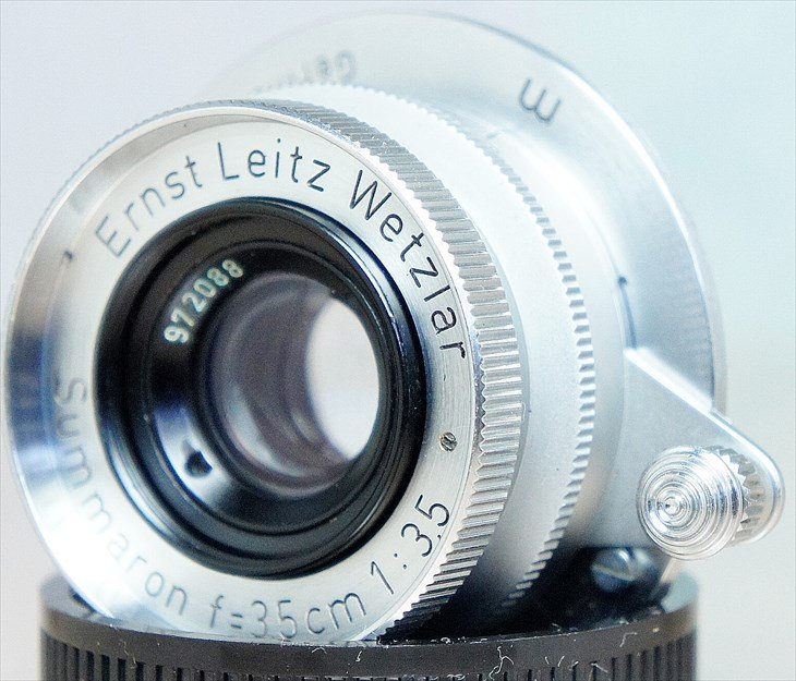 外観・光学系共に問題なし♪ Summaron(ズマロン)35mmF3.5 整備済み