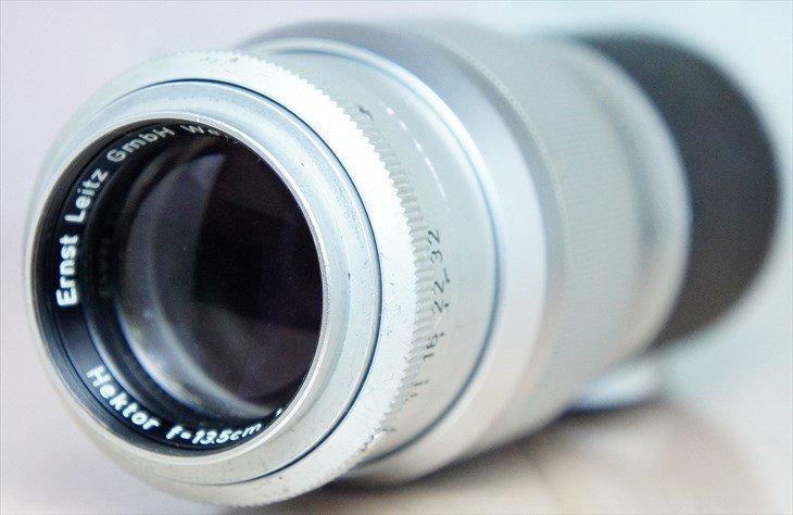 よく写るLeitz中望遠レンズ Hektor(ヘクトール)135mmF4.5