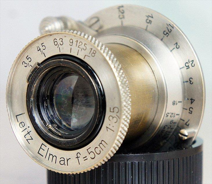 ♪味のある歴史的輝き♪ ニッケルエルマー(Elmar)50mmF3.5 整備済み