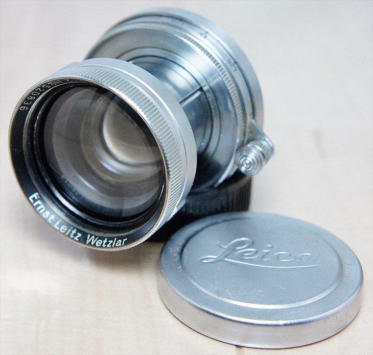 レンズキャップがついてお得!! Summitar(ズミター)50mmF2 整備済み