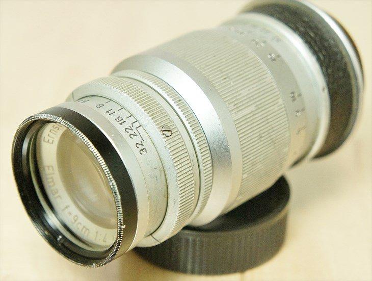 レンズフィルターついてます♪ Elmar(エルマー)90mmF4 整備済み