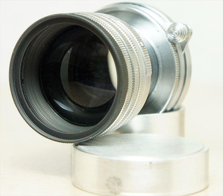 前後のキャップ・フィルターまでついてお得!! Summitar(ズミター)50mmF2 整備済み