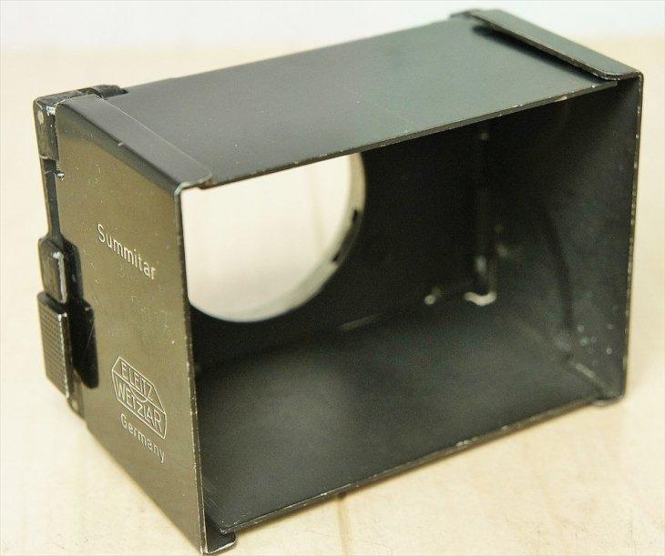 Summitar用折り畳み式レンズフード SOOPD