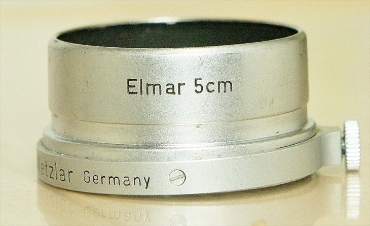 Elmar(エルマー)50mmF3.5用レンズフード FISON Summarにも使用可能