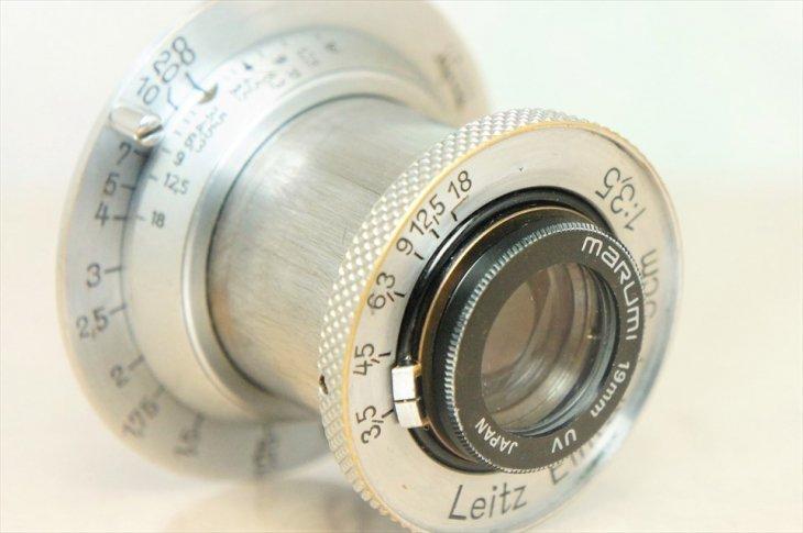 Elmar(エルマー)50mmF3.5 ノンコーティング UVフィルター付 整備済み