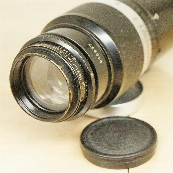 Leitz中望遠レンズHetkor(ヘクトール)135mmF4.5 安心の整備済み