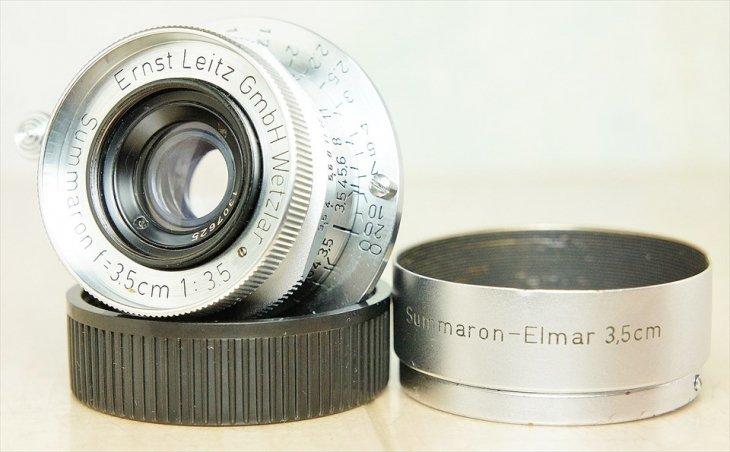 純正レンズフード付属 Summaron(ズマロン)35mmF3.5 整備済み