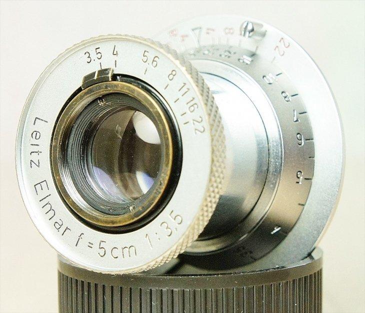 ♪写りも外観もキレイな♪ 赤Elmar(レッドエルマー)50mmF3.5 分解清掃済み