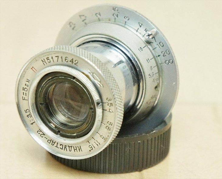 安いけどしっかり写る!! INDUSTER-22(インダスター)50mmF3.5 整備済み