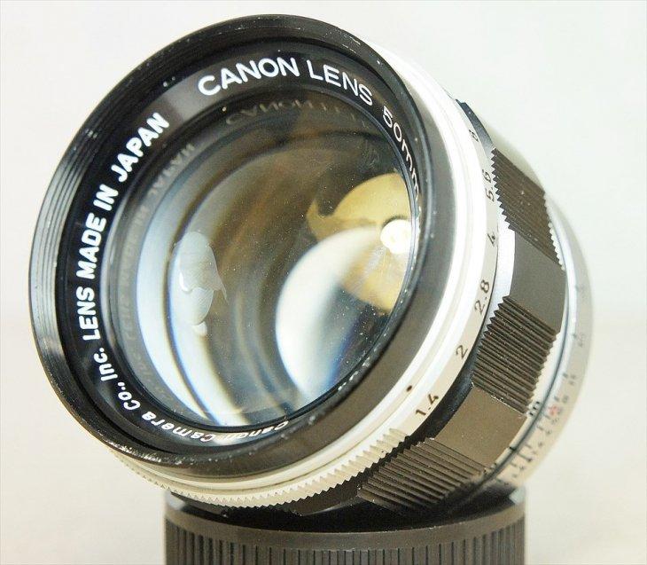 非常に明るい大口径レンズ♪ CanonLense50mmF1.4 整備済み