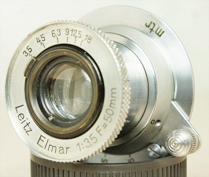 とても貴重でキレイな ショートクロームElmar(エルマー)50mmF3.5 整備済み