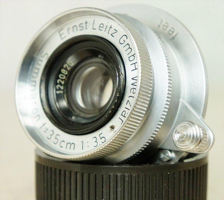 使いやすいレンズ♪ Summaron(ズマロン)35mmF3.5 整備済み