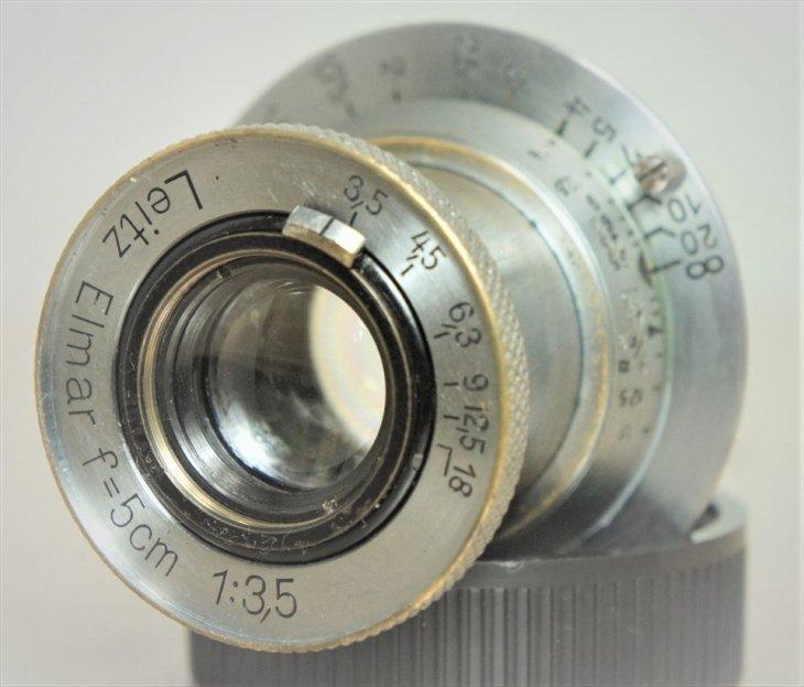 【ジャンク】 整備済みだけど・・・ Elmar(エルマー)50mmF3.5