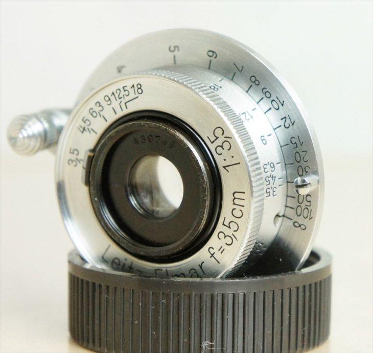 小さくてかわいい♪Elmar(エルマー)35mmF3.5 整備済み