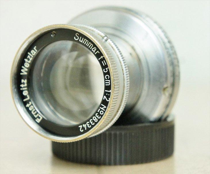 キレイな光学系! 標準レンズSummar(...