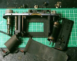 バルナックライカ修理 DIII(D3) オーバーホール