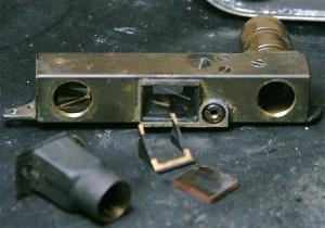 バルナックライカ修理 DII(D2) ファインダークリーニング