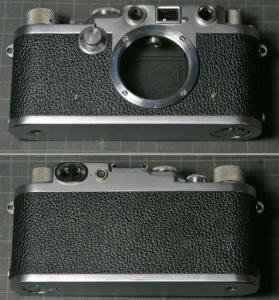バルナックライカ修理 I型(A型・B型・C型・Standard) グッタペルカ交換