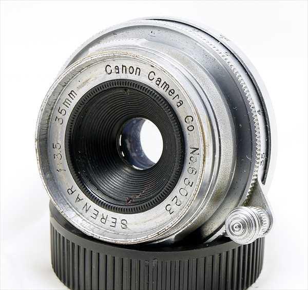 お安い広角レンズです!CanonSERENAR35mmF3.5 分解清掃済み