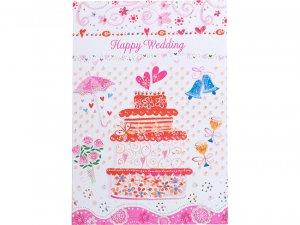 【メッセージカード】Happy Wedding