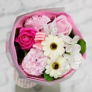 【お花の入浴剤バスフレグランスソープ】ミックスブーケ