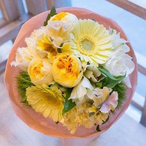 【メッセージフラワー】生花 誕生日花束BQ007