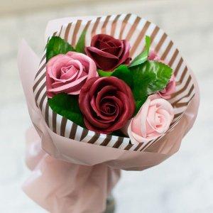【お花の入浴剤バスフレグランスソープ】カフェオレブーケ