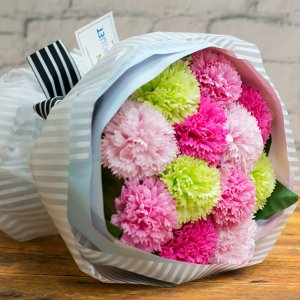 【お花の入浴剤バスフレグランスソープ】カーネーションダズンブーケ