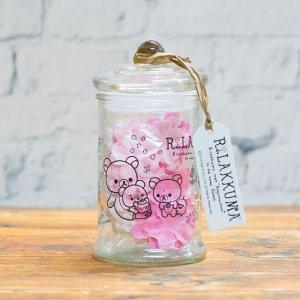 【お花の入浴剤バスフレグランスソープ】リラックマ入浴剤ボトル